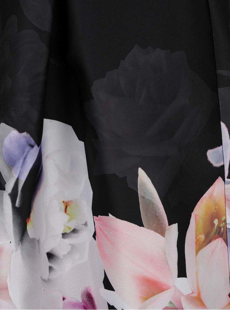 Rochie neagra Miss Selfridge cu model floral