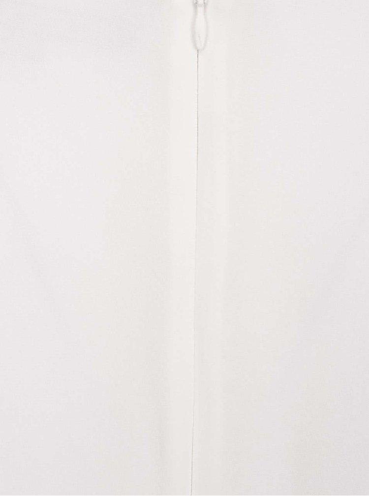 Rochie alb fildeș în A French Connection Ensore cu detalii din macrame