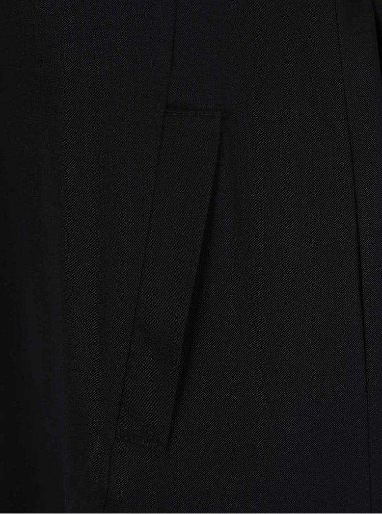 Černá dlouhá vesta Miss Selfridge