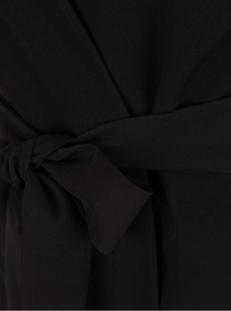 Sacou negru  Miss Selfridge cu decupaj pe umeri