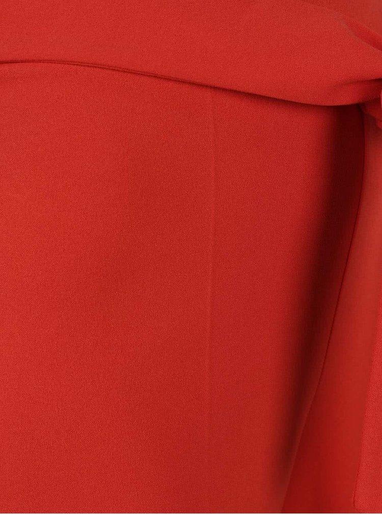 Pantaloni culottes Miss Selfridge rosii