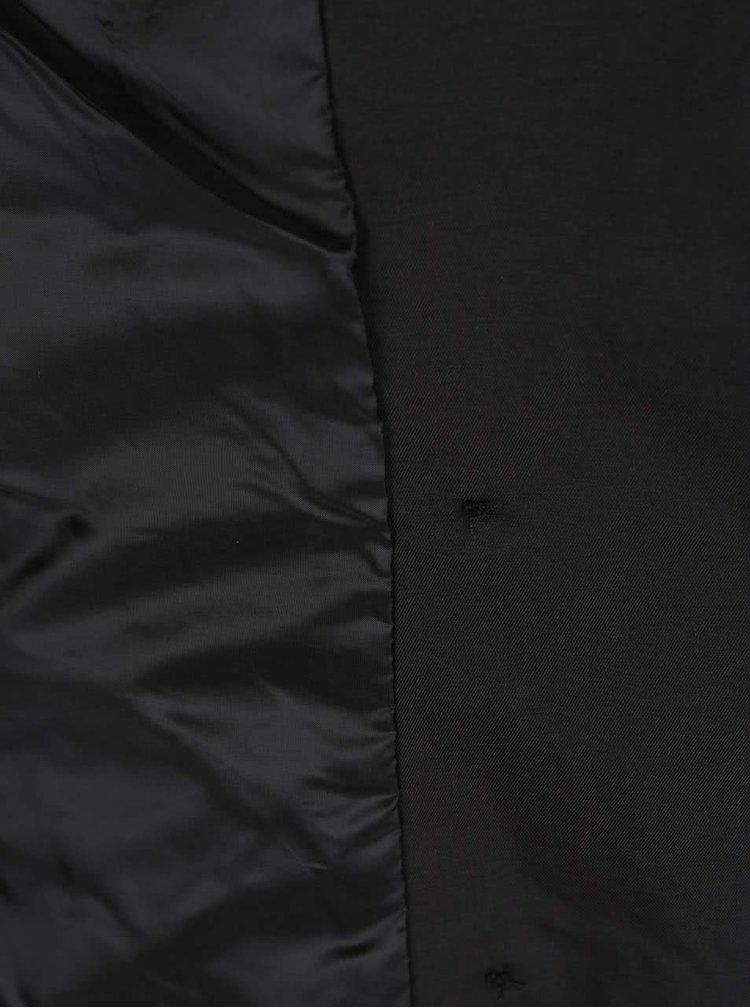 Černý lehký krátký kabát ONLY Maria