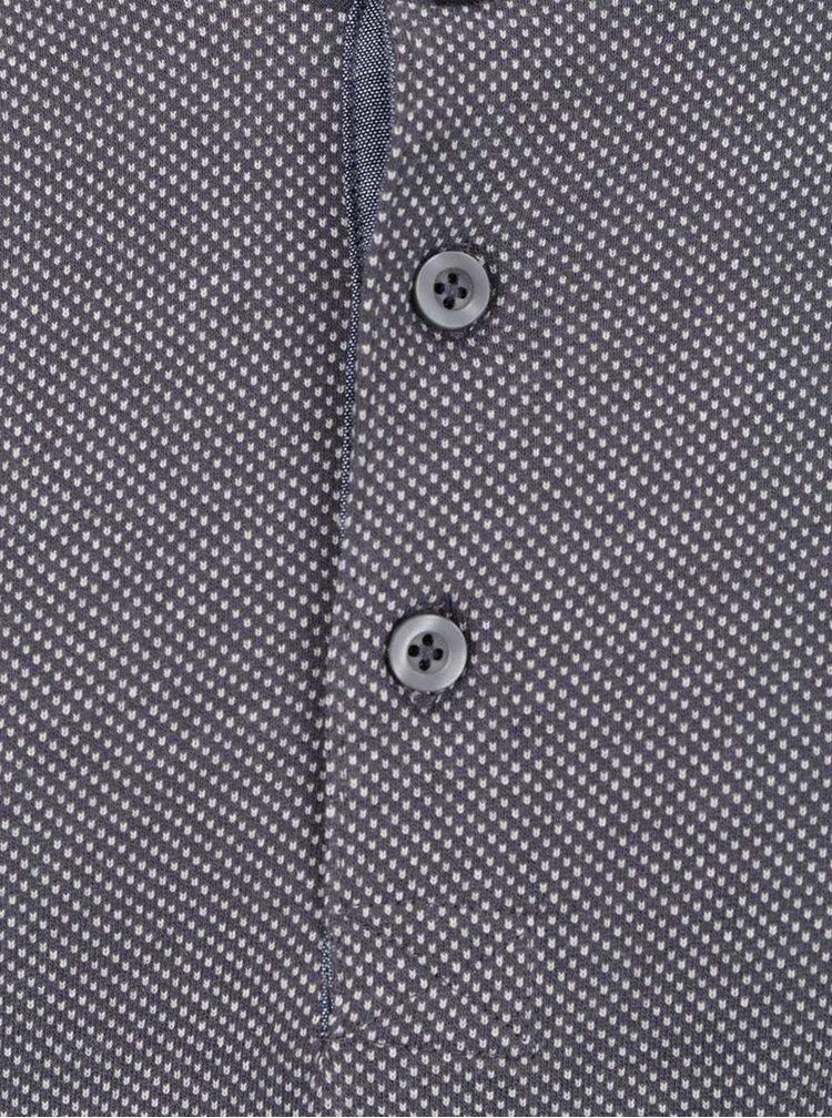 Šedé vzorované triko ONLY & SONS Teo