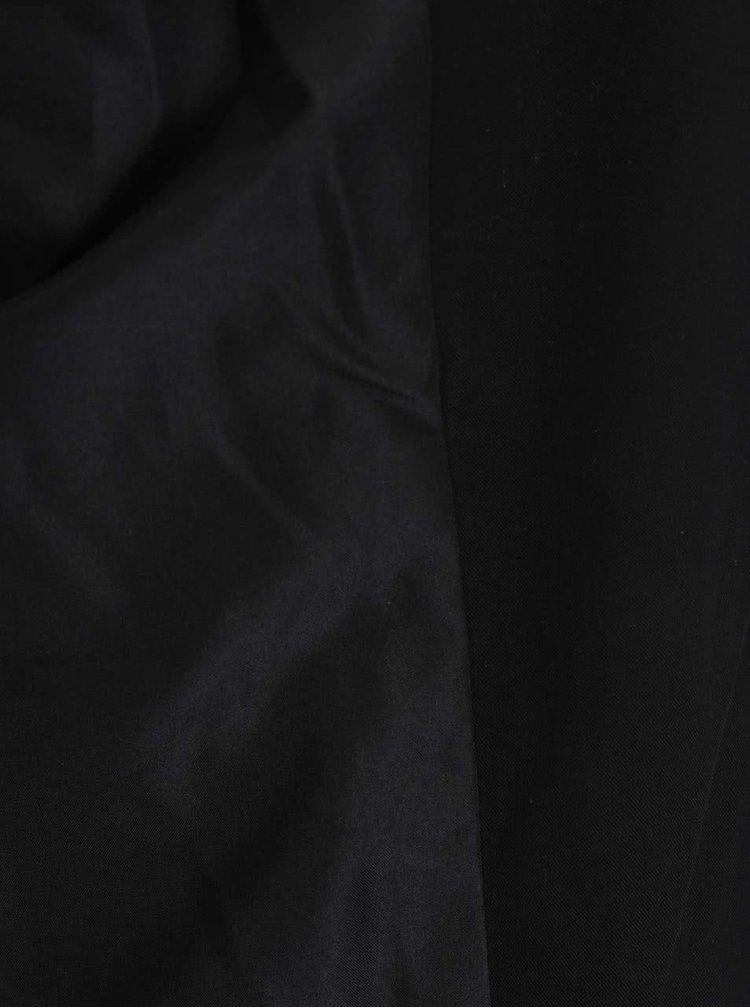 Blazer negru VERO MODA Wrinkly