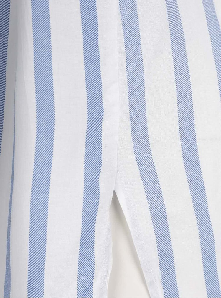 Modro-krémová pruhovaná košile ONLY Candy
