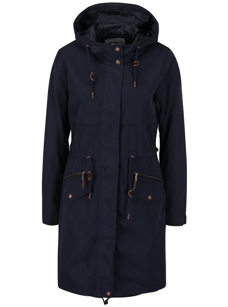 Jachetă parka bleumarin ONLY Evening