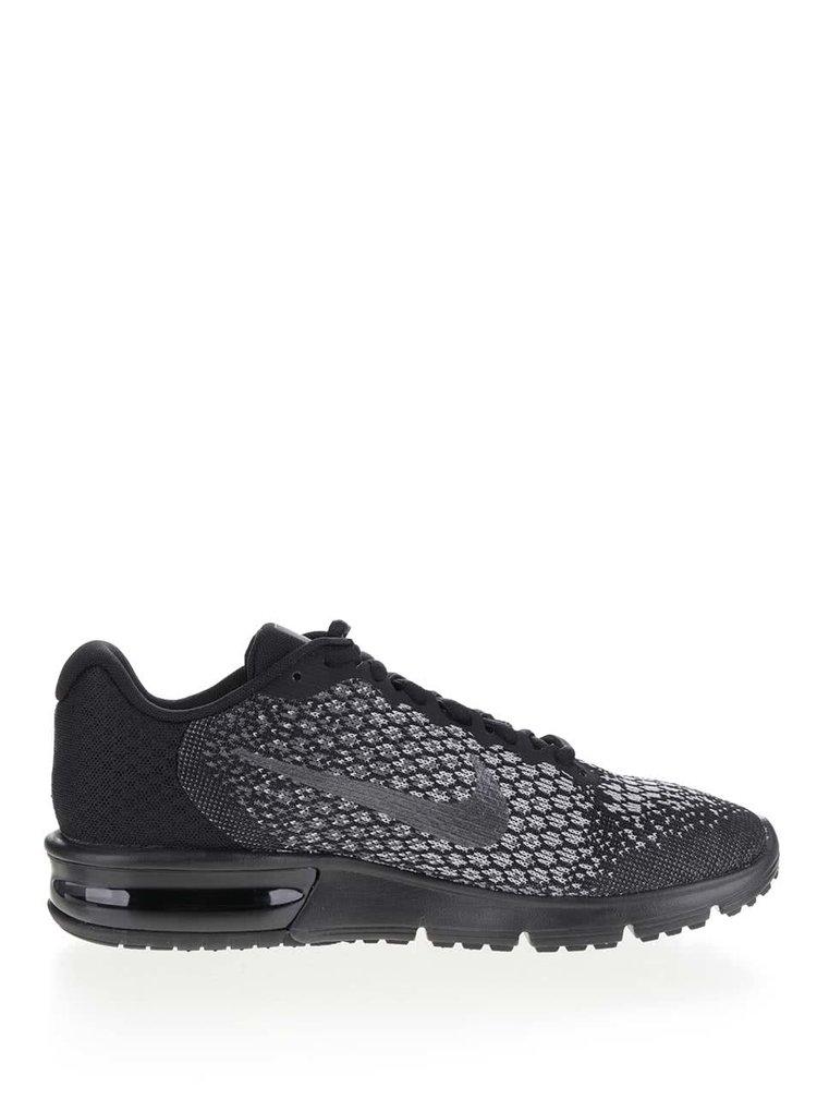 Černé pánské tenisky Nike Air Max Sequent