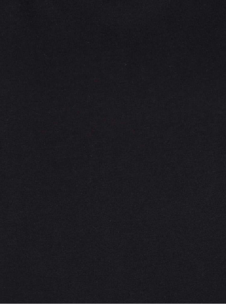 Černé dlouhé tričko ONLY Groovy