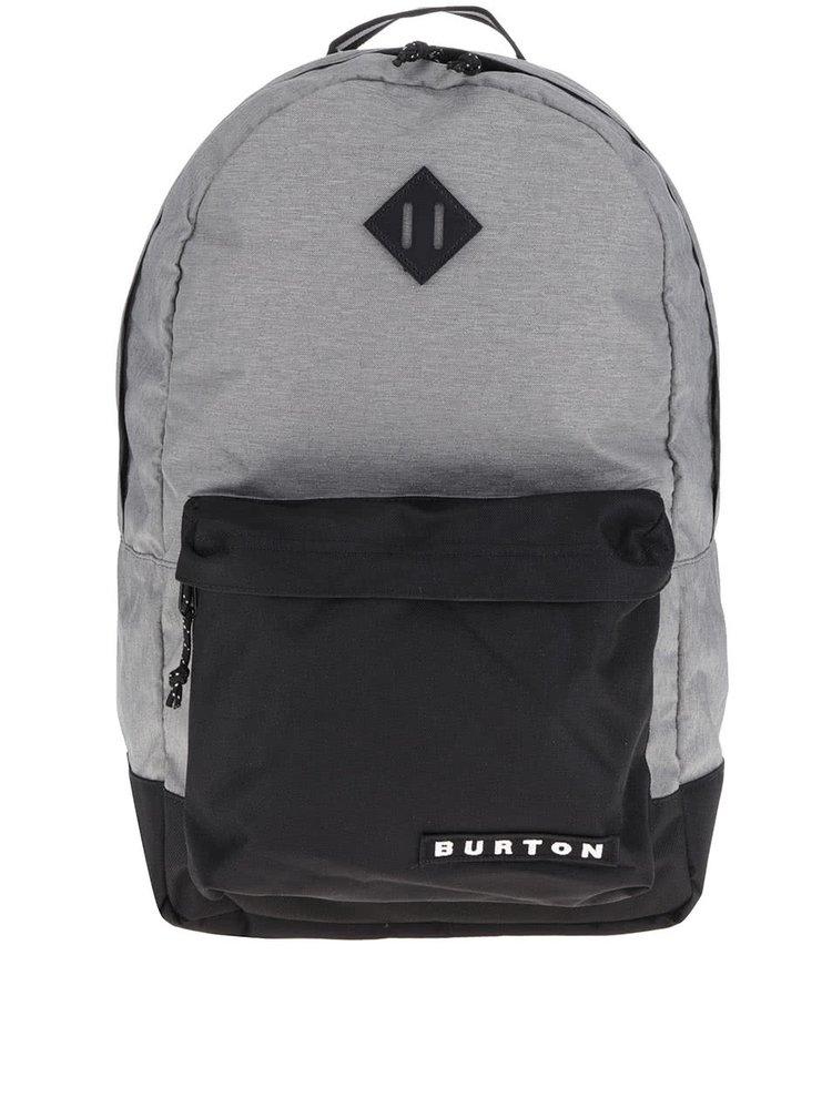 Šedo-černý unisex batoh Burton Kettle 20 l