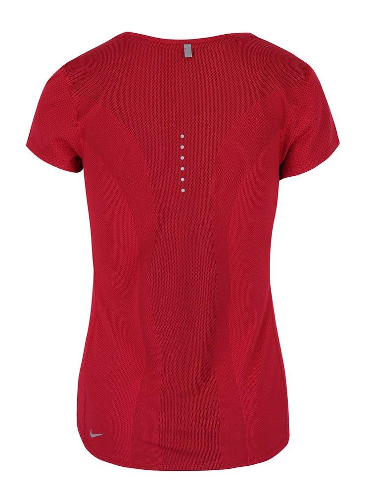Tricou rosu Nike Dry Contour