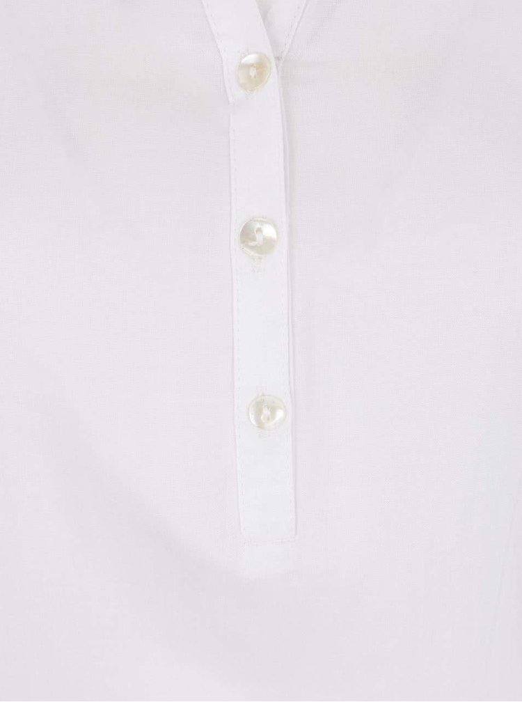 Bluză albă Desigual Olga cu broderie
