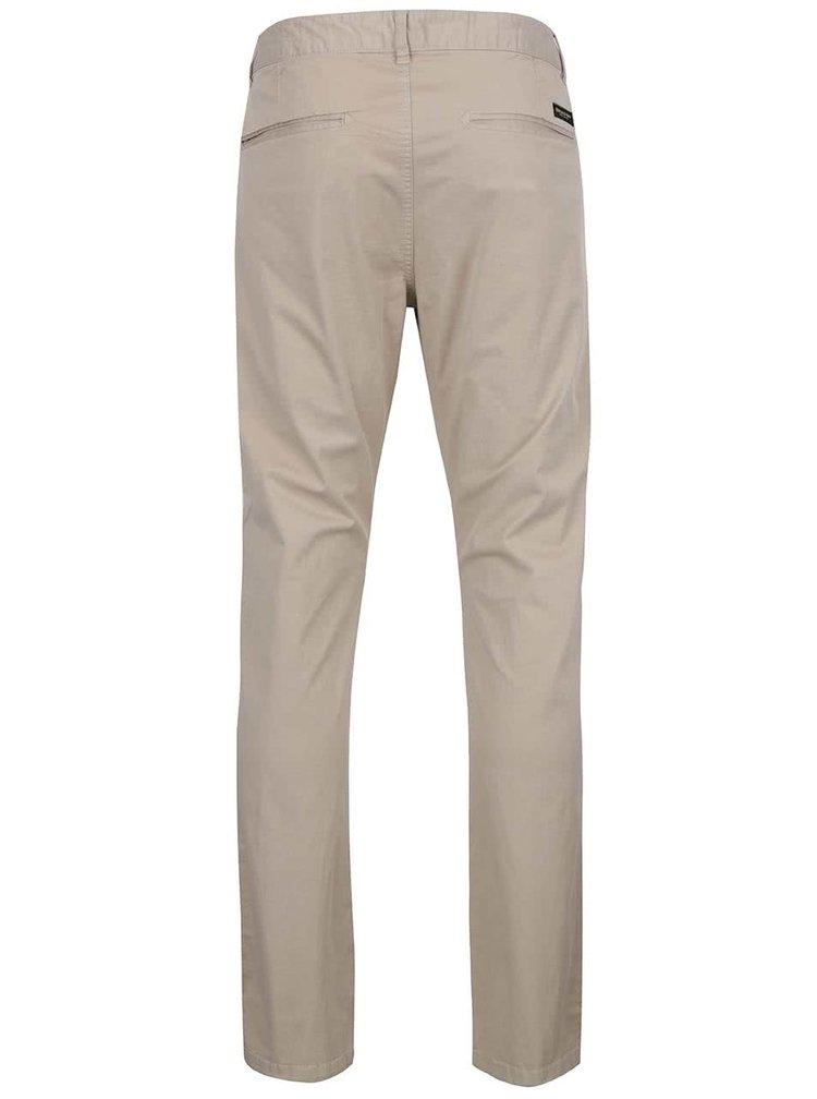 Pantaloni chino bej Broadway Wayne