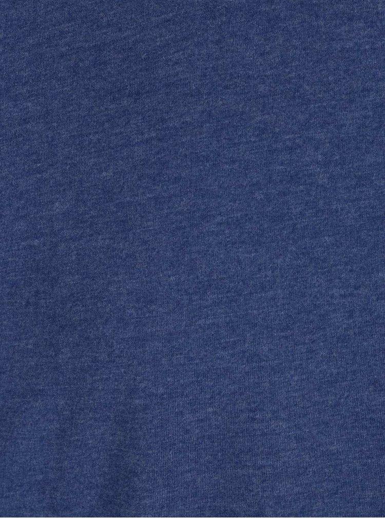 Tmavě modré pánské basic triko Broadway Kirk