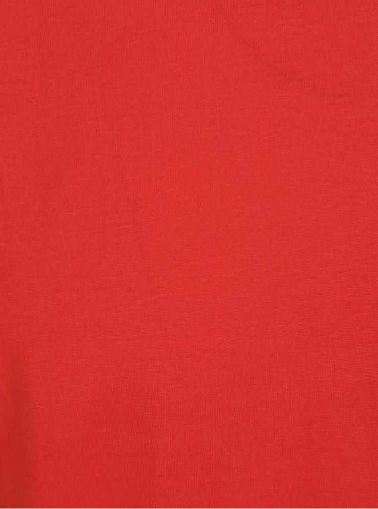 Červené pánské basic triko Broadway Kirk