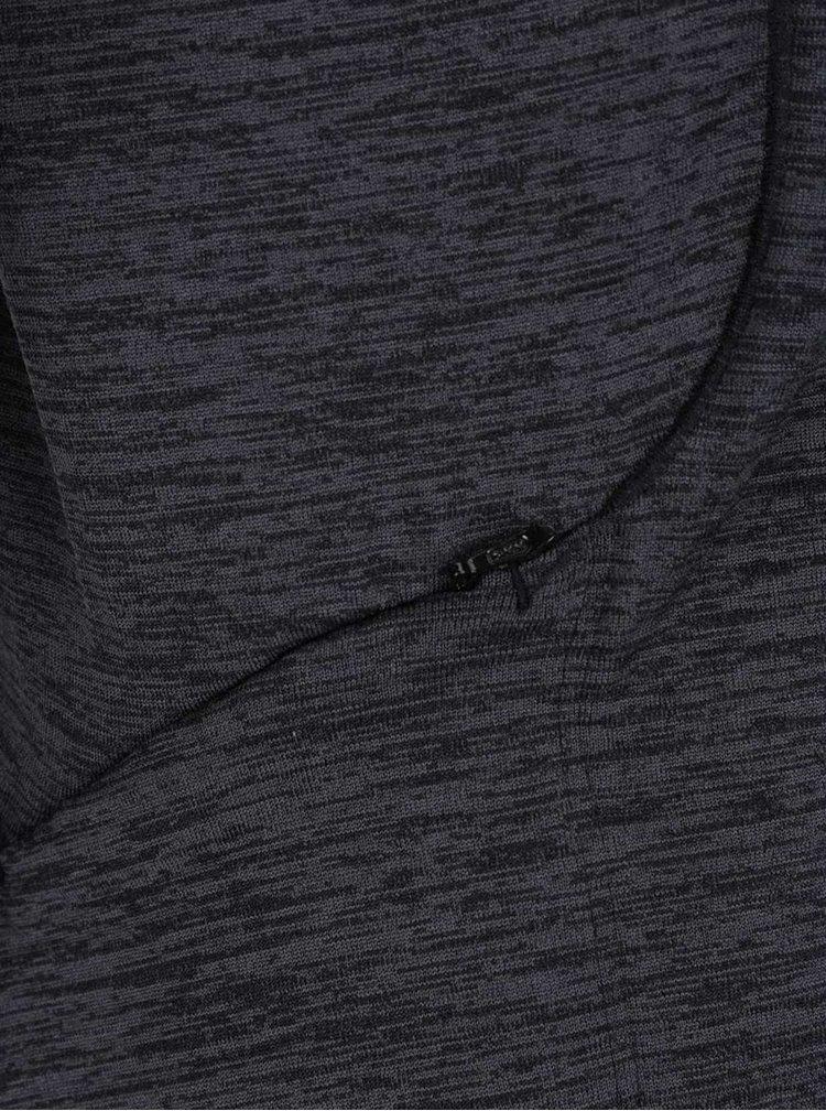 Tmavě šedá žíhaná dámská funkční mikina Nike Sphere Element