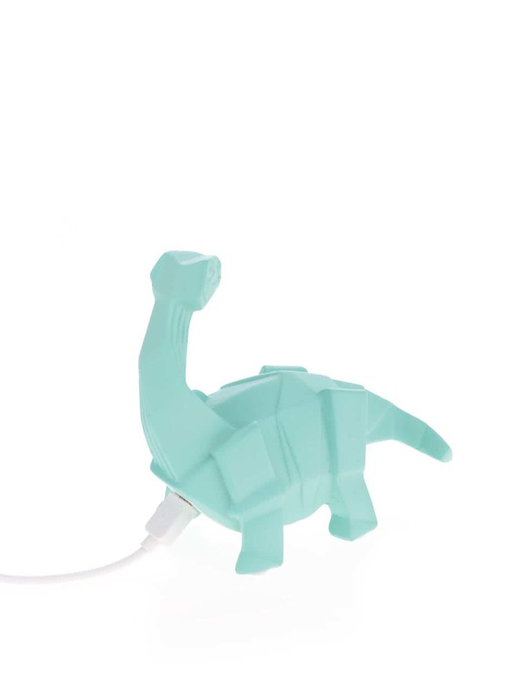 Lampă LED turcoaz Disaster în formă de dinozaur