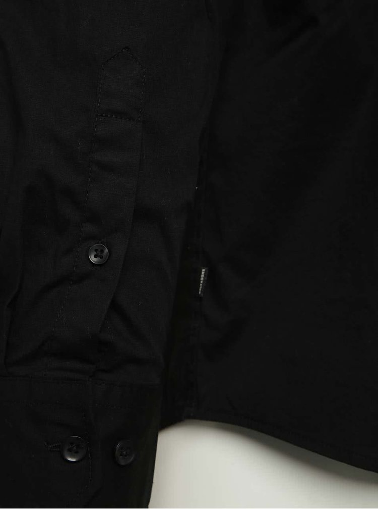 Camasa neagra slim fit ONLY & SONS Albiol