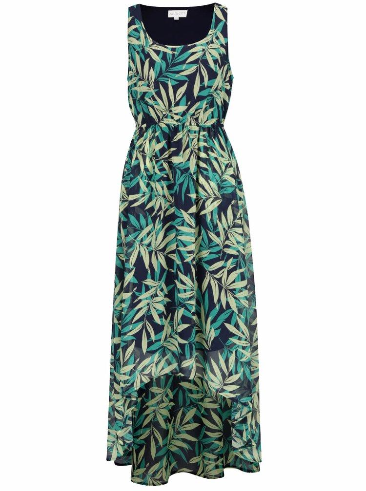Rochie verde cu albastru Apricot