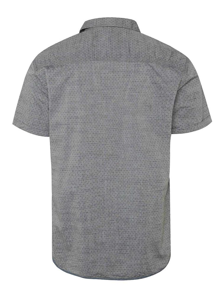 Šedá vzorovaná košile s krátkým rukávem Blend