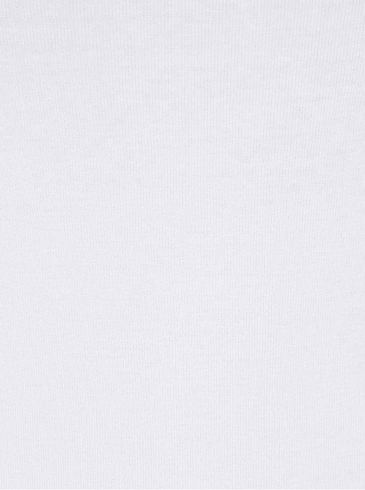 Tricou alb M&Co basic