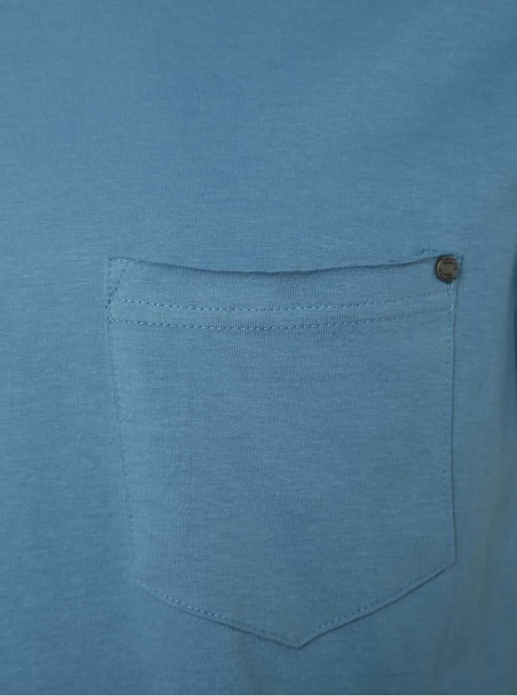 Modré triko s kapsou Blend