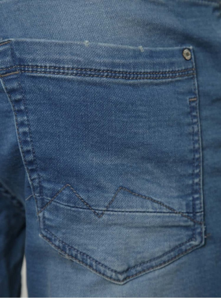 Pantaloni scurti albastri Blend din denim