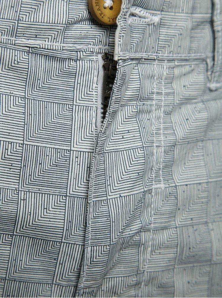 Pantaloni scurti gri Blend cu model