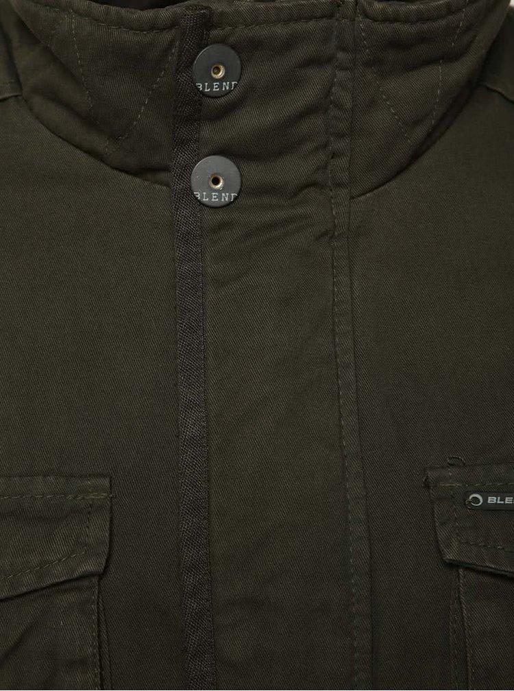 Jachetă subțire kaki Blend