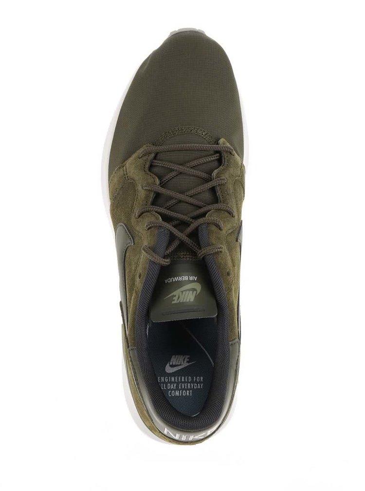 Khaki pánské tenisky se semišovými detaily Nike Air