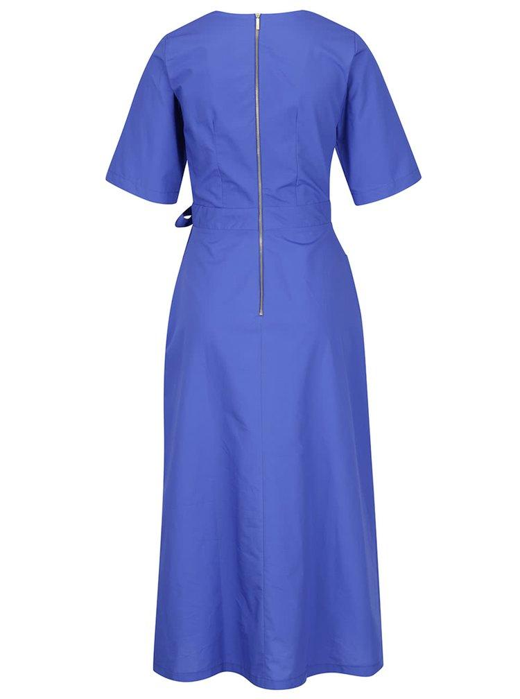Rochie midi albastra Closet tip kimono
