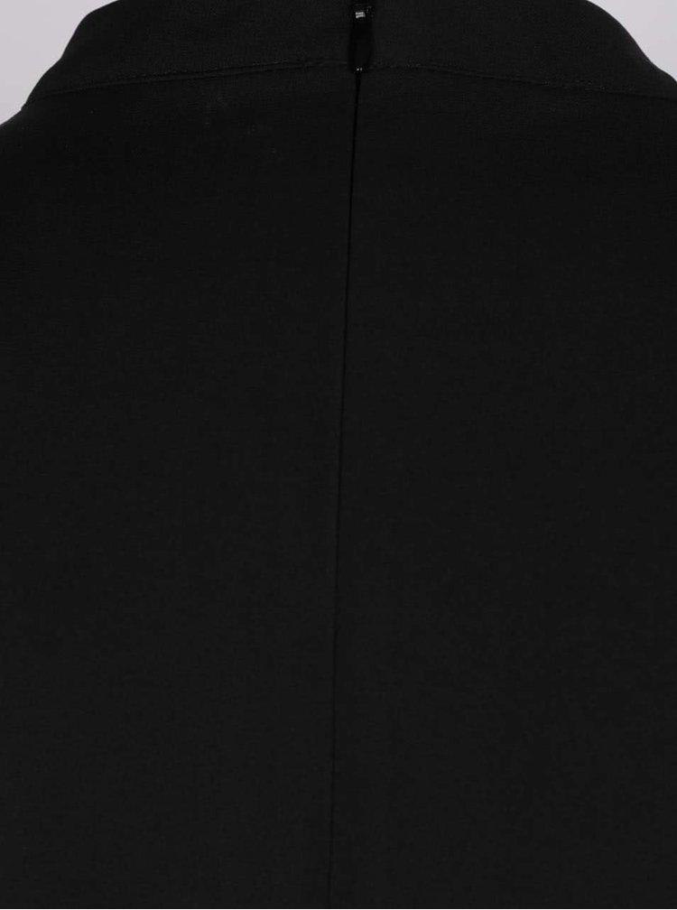 Černý overal bez rukávů Apricot