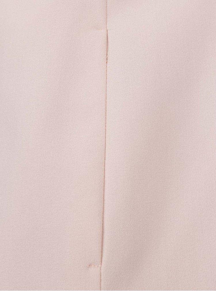 Světle růžový dámský lehký kabát M&Co