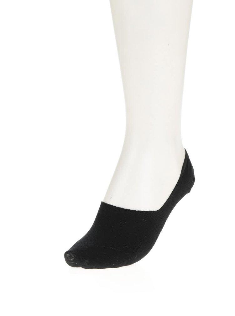 Černé dámské sneaker ponožky Bellinda Invisible