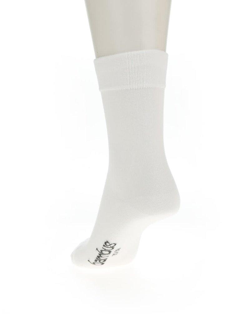 Bílé dámské ponožky Bellinda Comfort