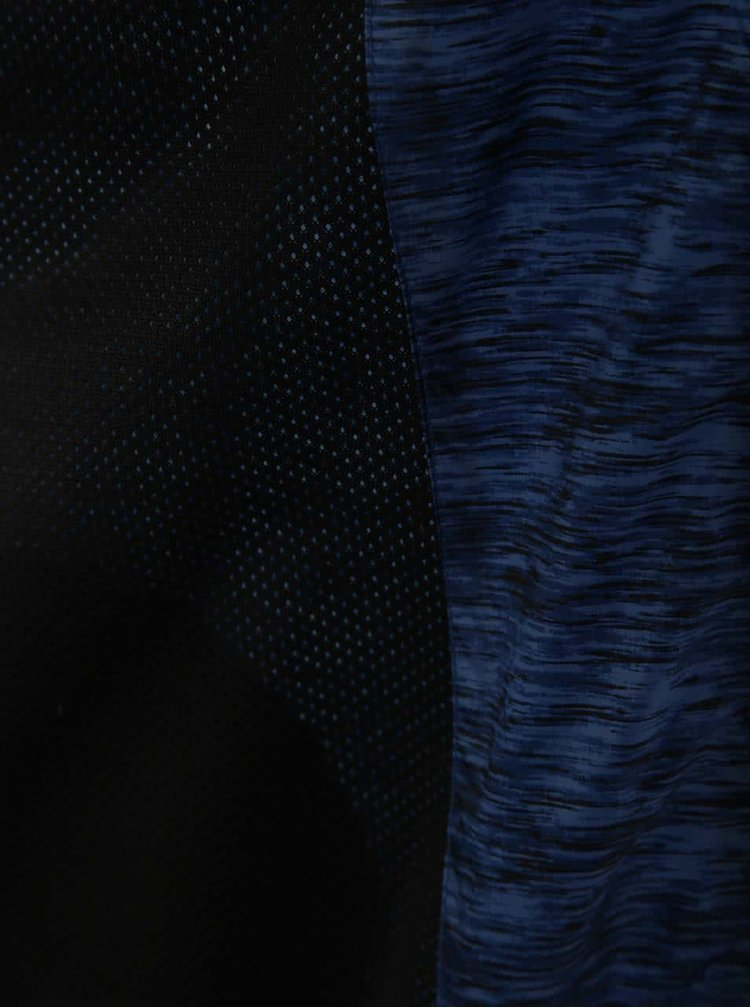 Jacheta albastru tigrat Blend cu gluga
