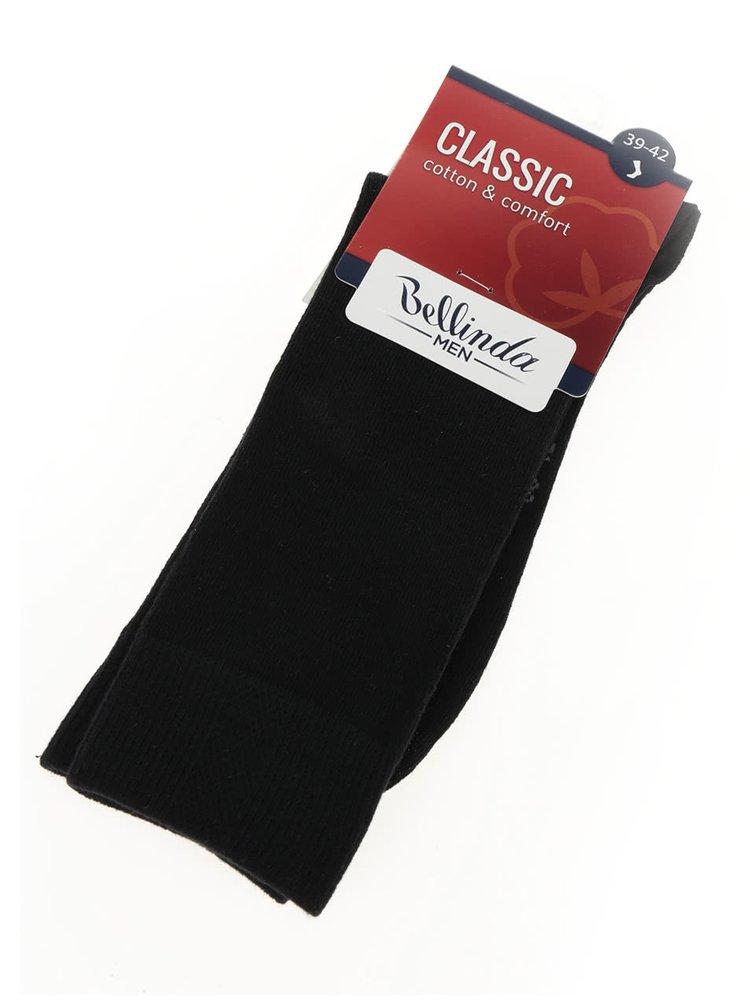 Sosete lungi negre Bellinda Classic