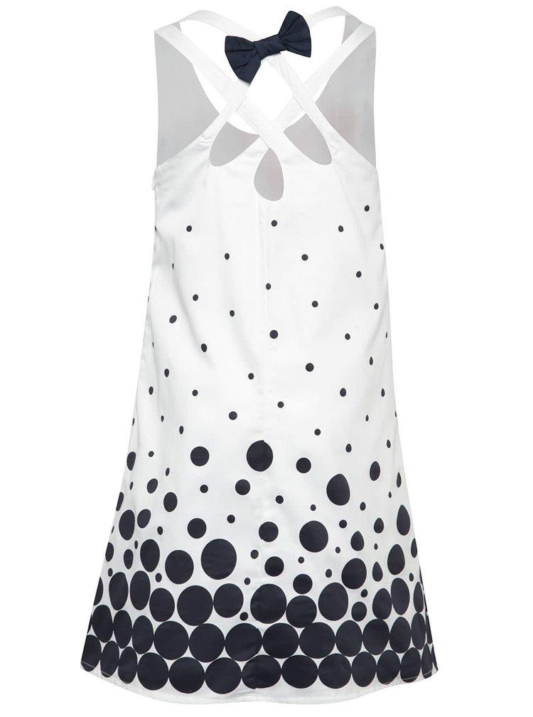 Rochie albă Bóboli cu model