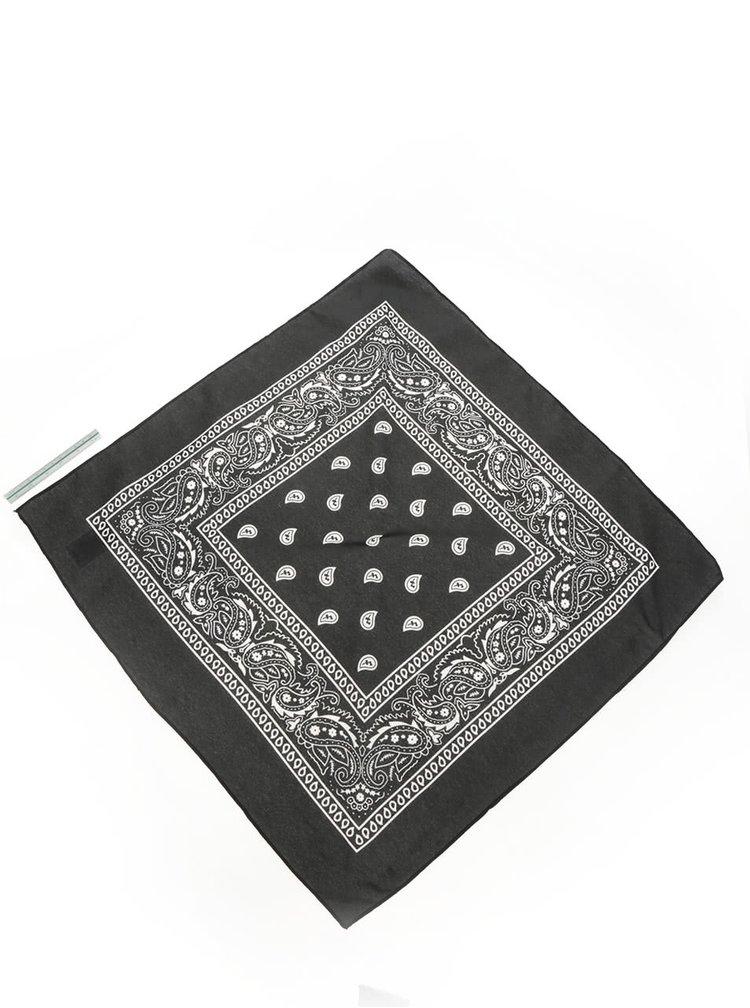 Bílo-černý šátek Haily's Nickie