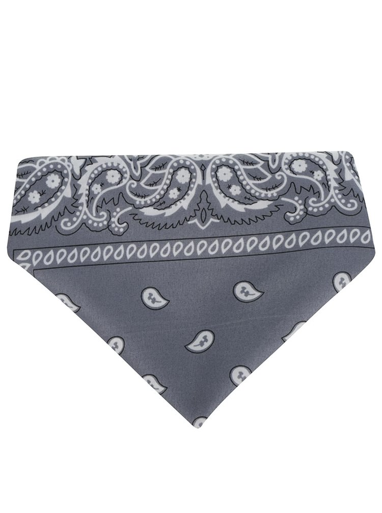 Bílo-šedý šátek Haily's Nickie
