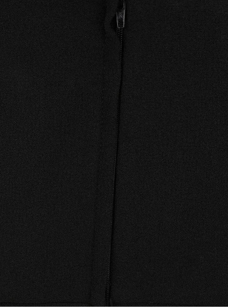 Černé pouzdrové šaty bez rukávů Miss Selfridge