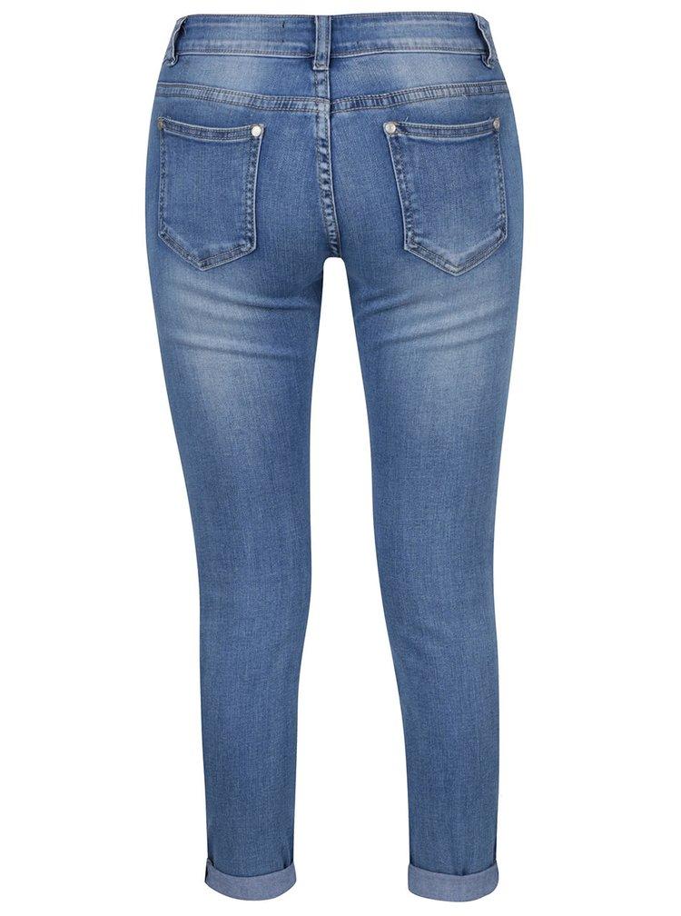 Modré džíny s potrhaným efektem Haily's Lissy
