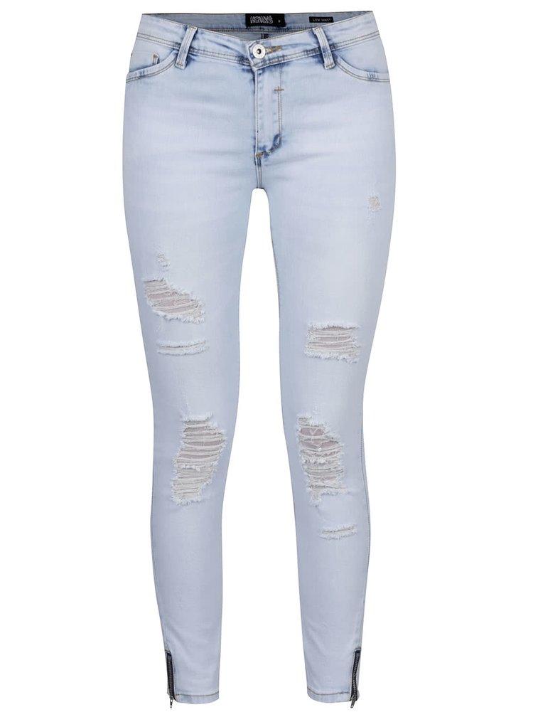 Modré džíny se zipy Haily's Lara