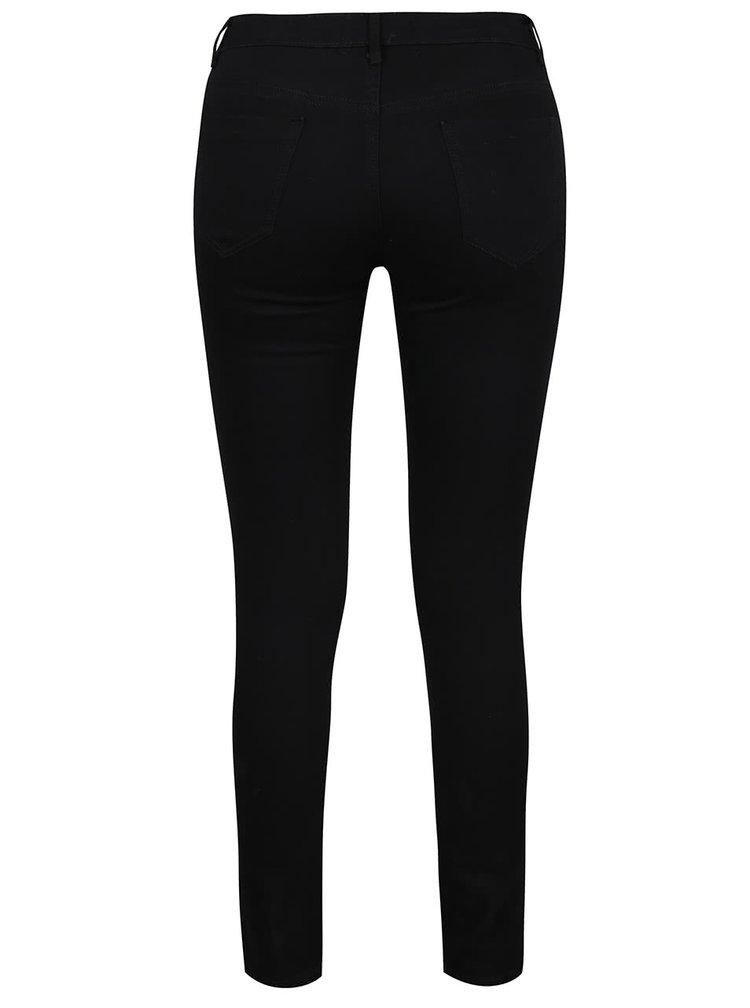Černé džíny s potrhaným efektem Haily´s Janna