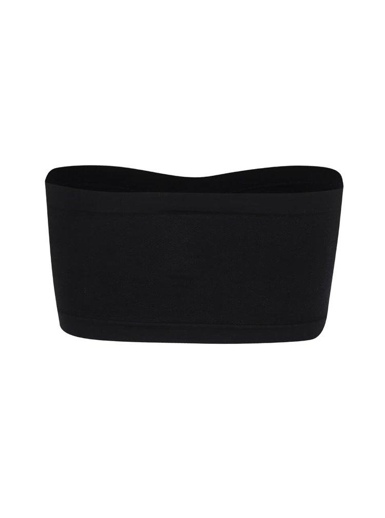 Čierna podprsenka bez ramienok Haily´s Lissy
