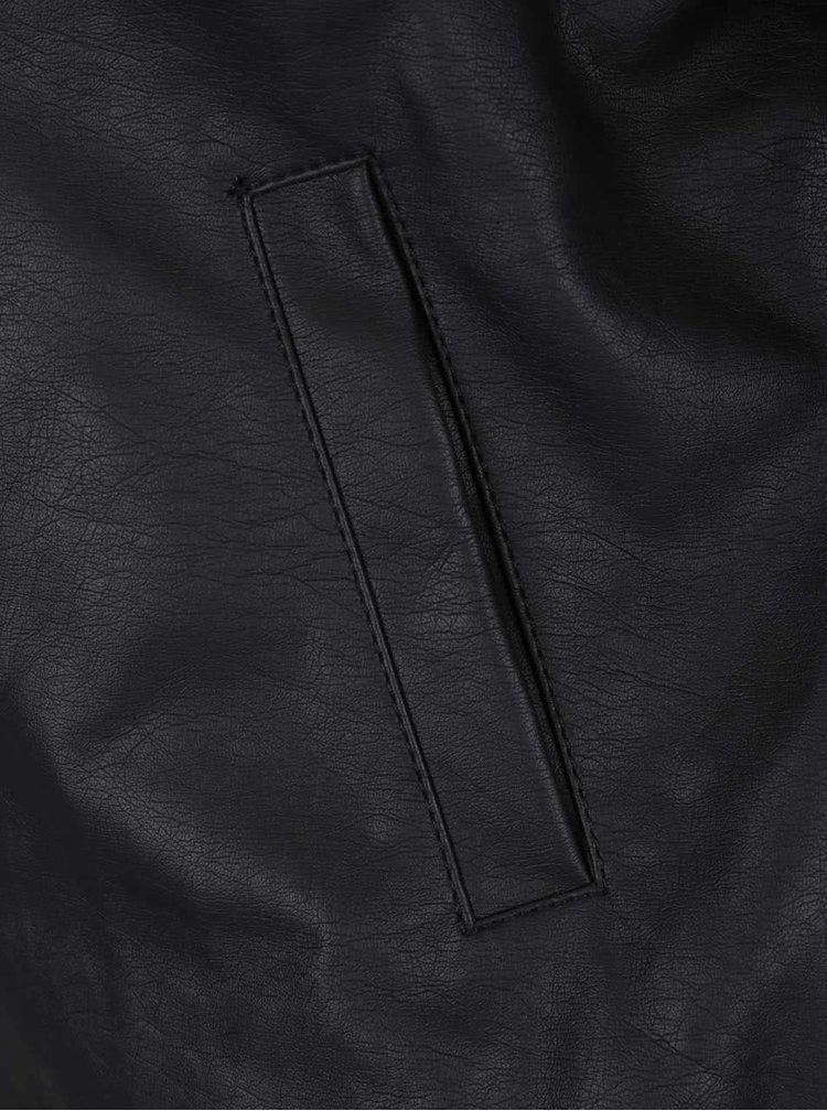 Jachetă bomber neagră Haily's Daisy