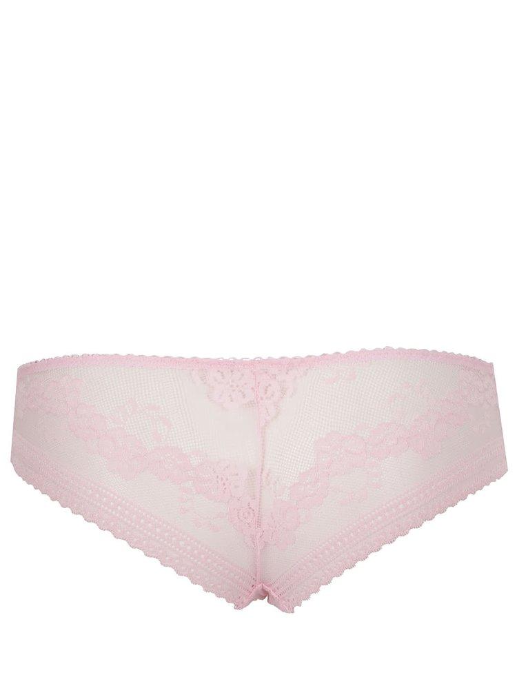 Chiloti roz pal Haily's Lace din dantela