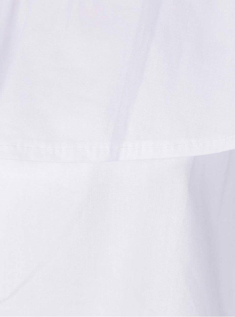 Bílá halenka s odhalenými rameny Haily's Josy
