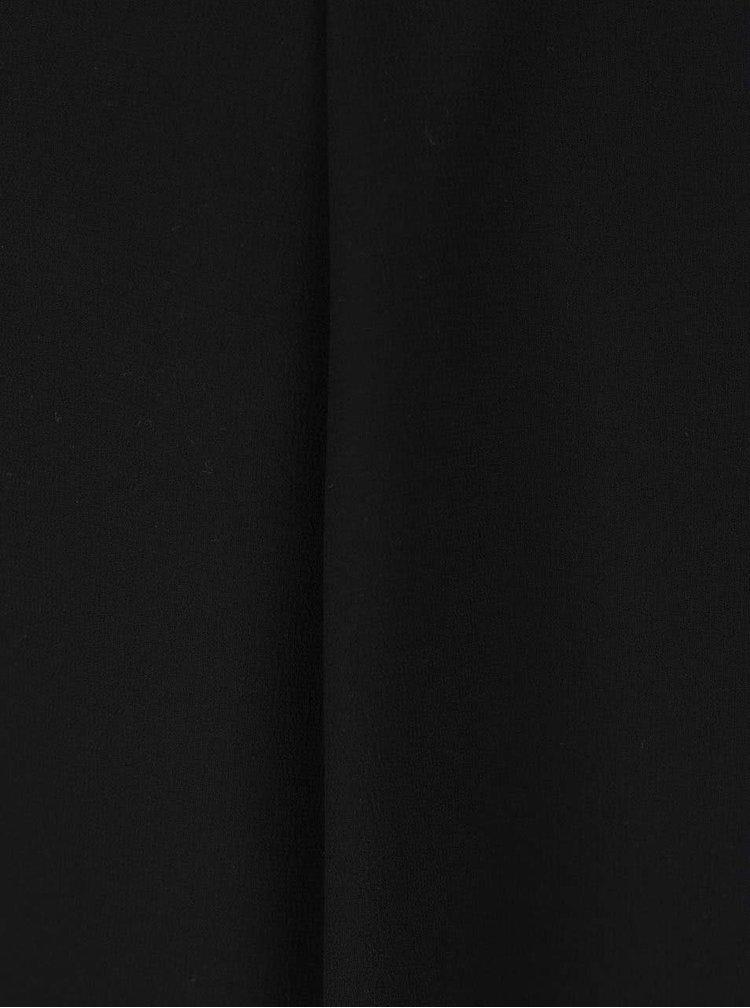 Černá halenka s krajkou na zádech Haily's Elina