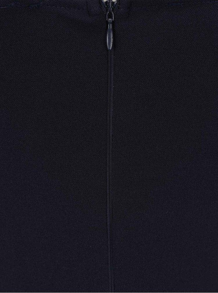 Rochie albastru inchis Ax Paris cu bretele multiple