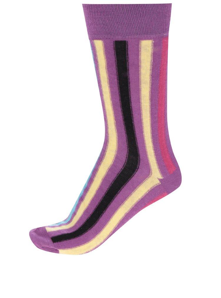 Sada tří pánských pruhovaných ponožek Oddsocks Arthur
